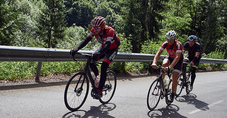 Cykelløb i bjergene