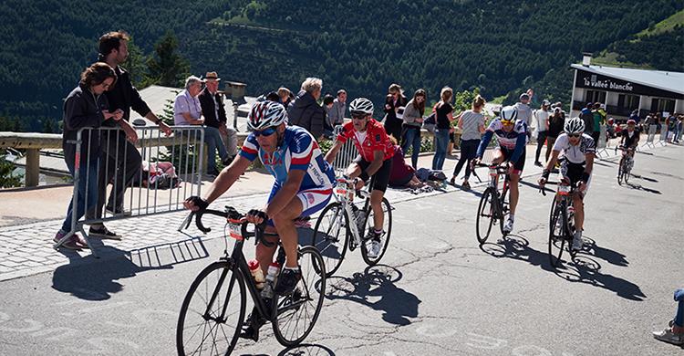 Cykelløb på Alpe d'Huez